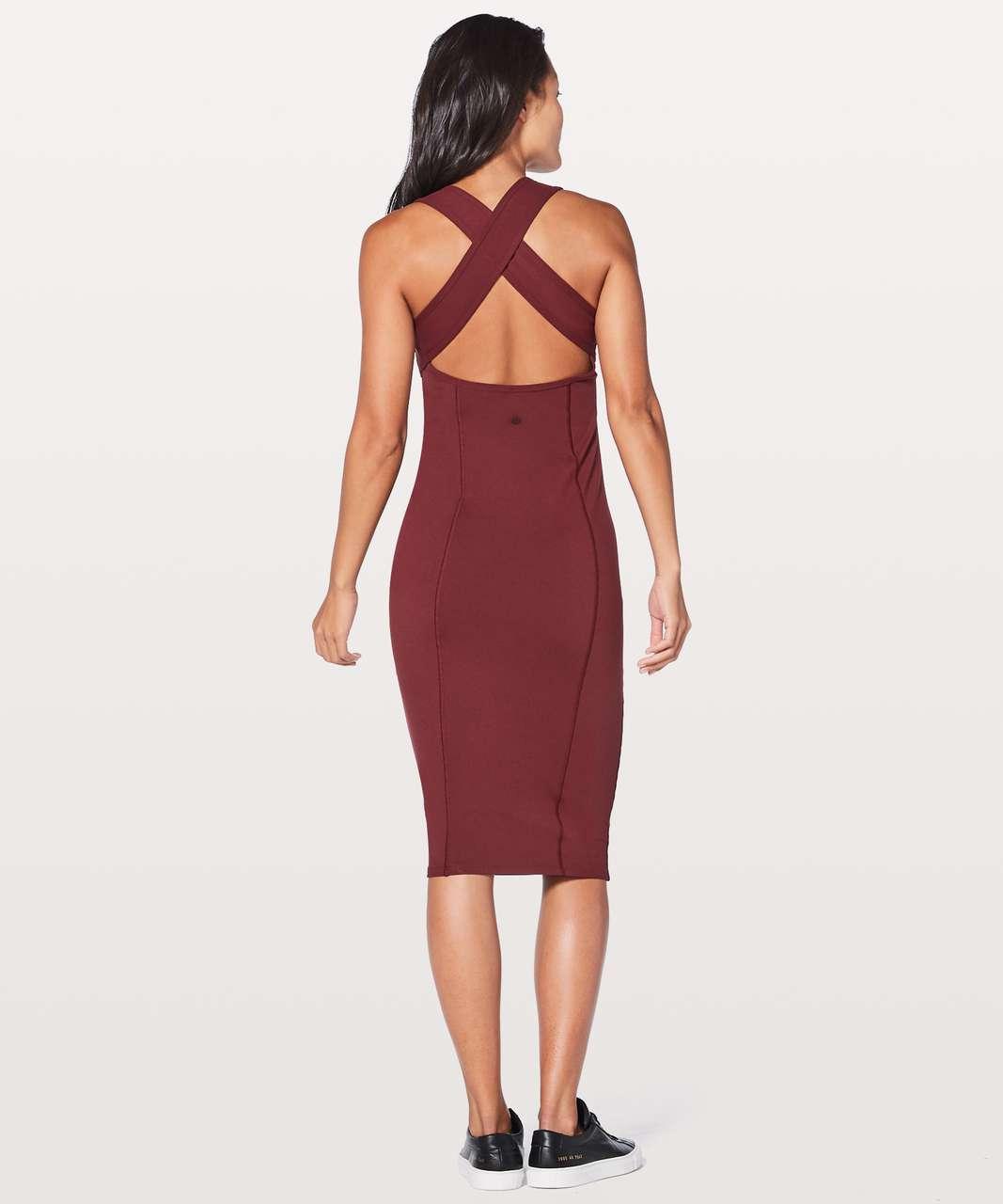 900d5e7c52 Lululemon Picnic Play Dress - Deep Rouge - lulu fanatics