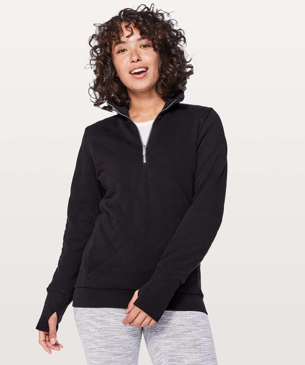 the best attitude 6250d 59a63 Lululemon Forever Warm Pullover - Black