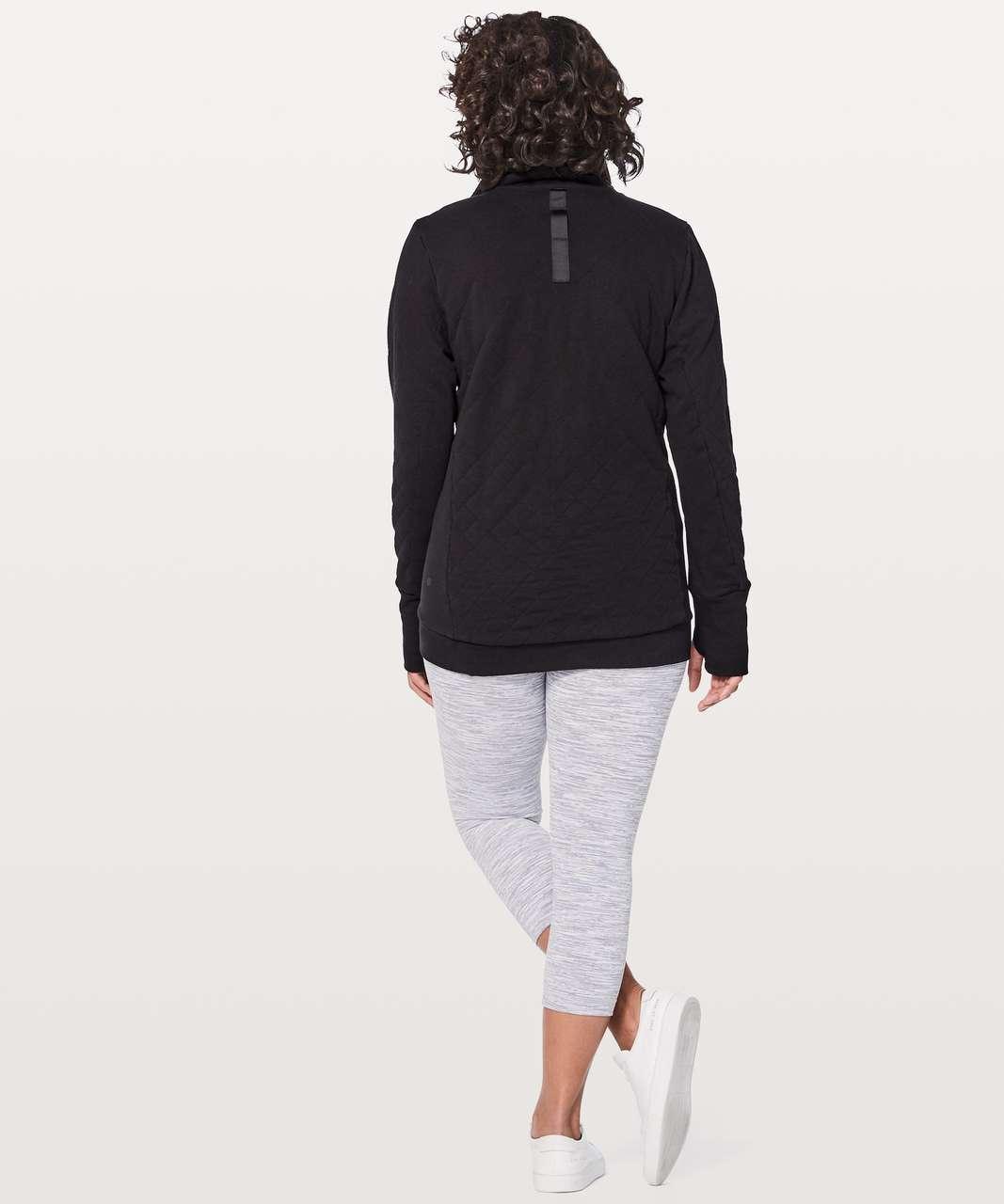 the best attitude 36e5c 8331b Lululemon Forever Warm Pullover - Black