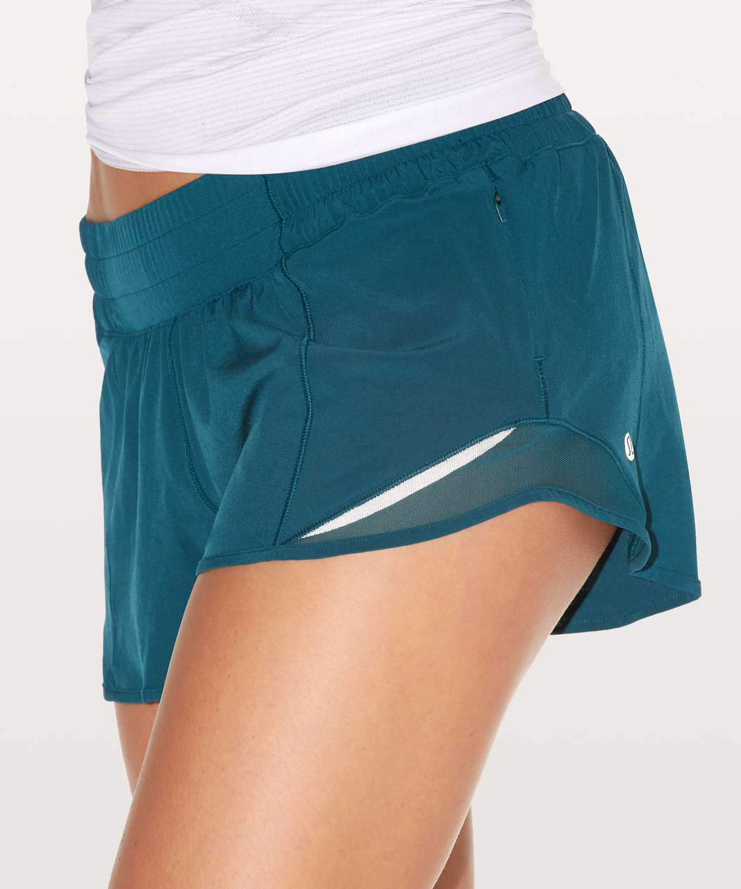 "Lululemon Hotty Hot Short II 2.5"" - Nile Blue"