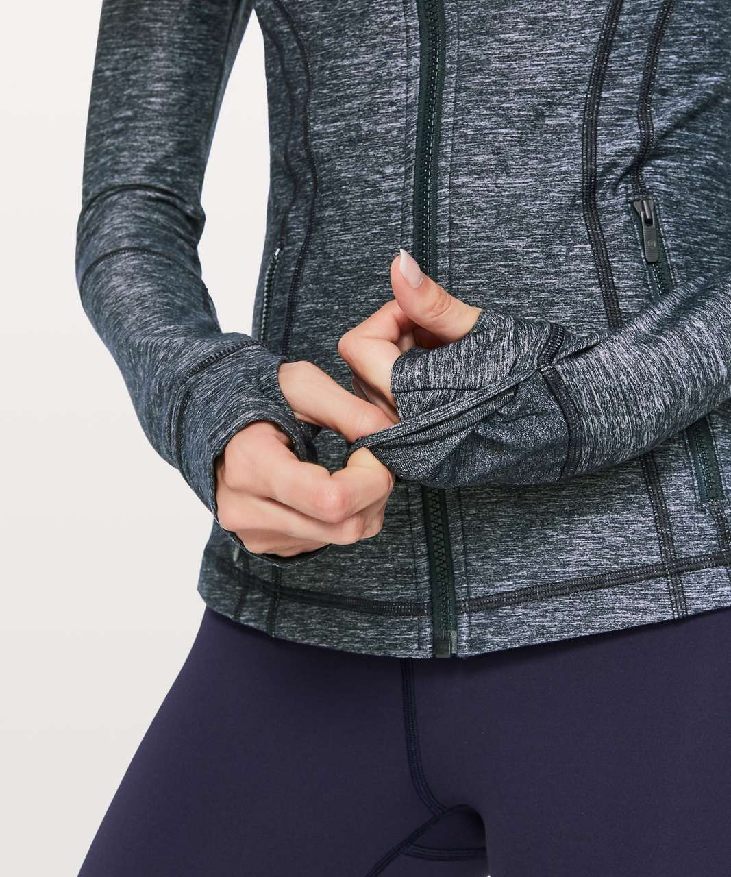 Lululemon Define Jacket *Brushed - Heathered Inkwell