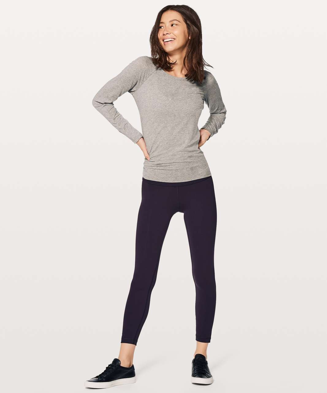 "Lululemon Wunder Under Hi-Rise 7/8 Tight 25"" - Boysenberry"