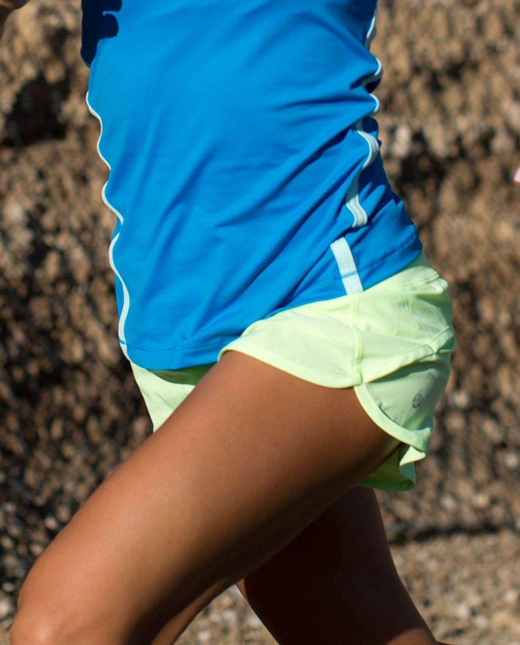 Lululemon Run:  Speed Short - Faded Zap