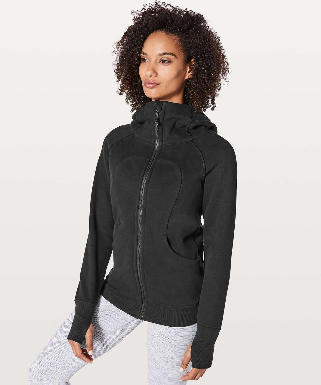 Lululemon Scuba Hoodie *Classic Cotton Fleece - Black
