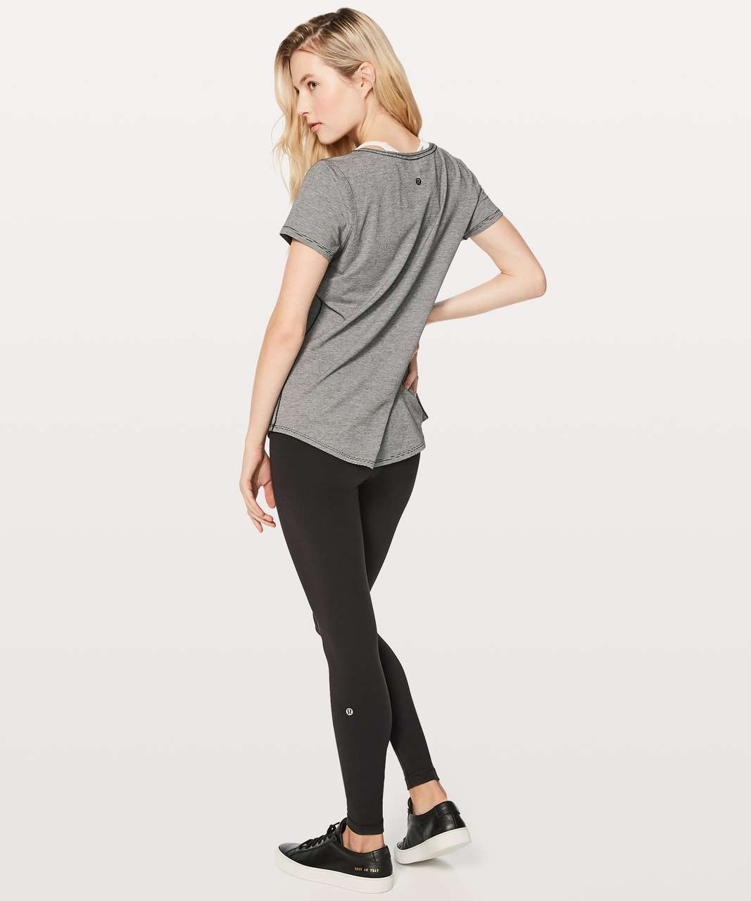 Lululemon Love Crew III - Wee Stripe Black White