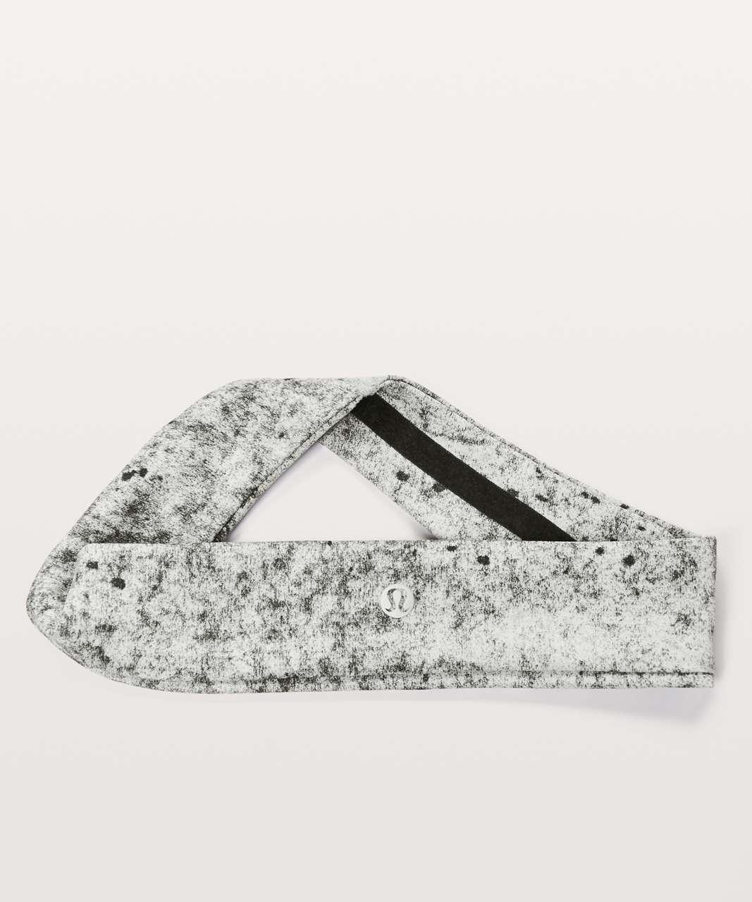 Lululemon Fly Away Tamer Headband II *Luxtreme - Antiqued Alpine White Multi