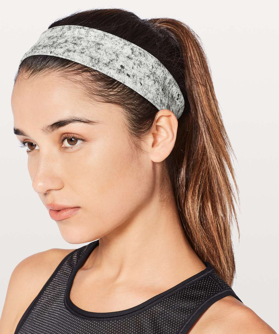 1bc037995d1 Lululemon Fly Away Tamer Headband II *Luxtreme - Antiqued Alpine White  Multi - lulu fanatics