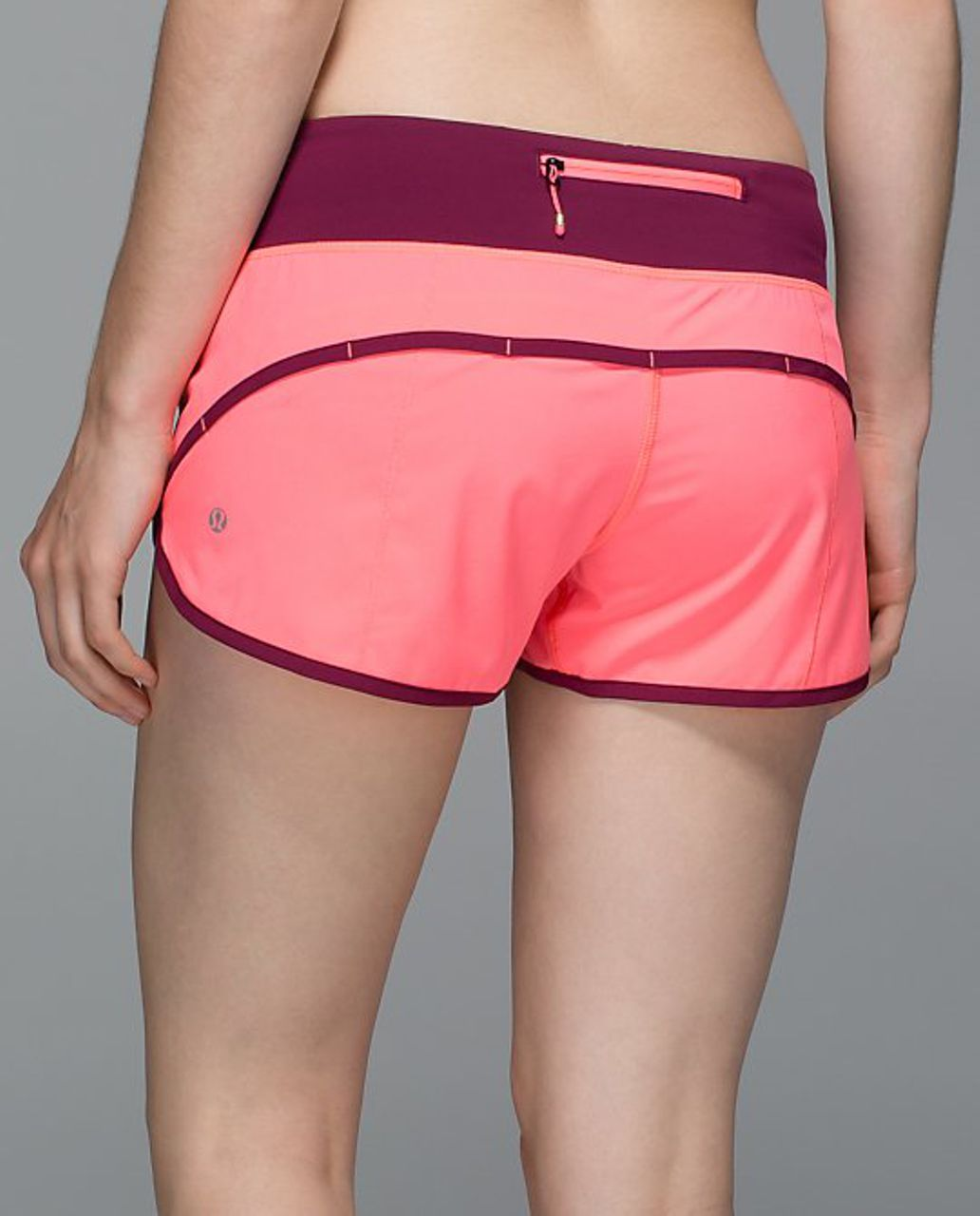 Lululemon Run:  Speed Short *4-way Stretch - Flash Light / Dashing Purple