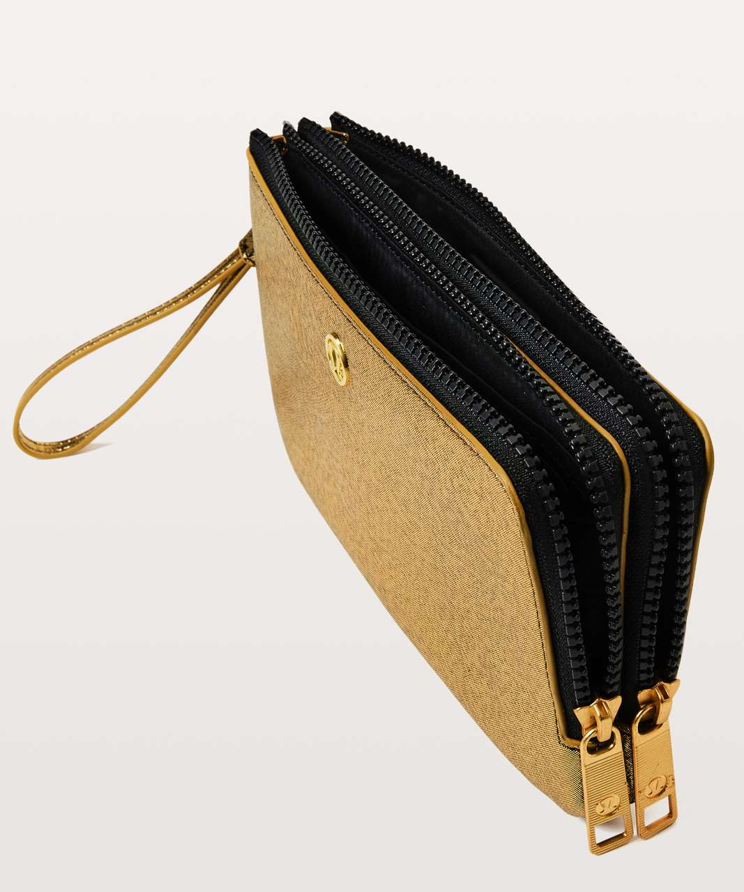 Lululemon Double Up Pouch - Gold