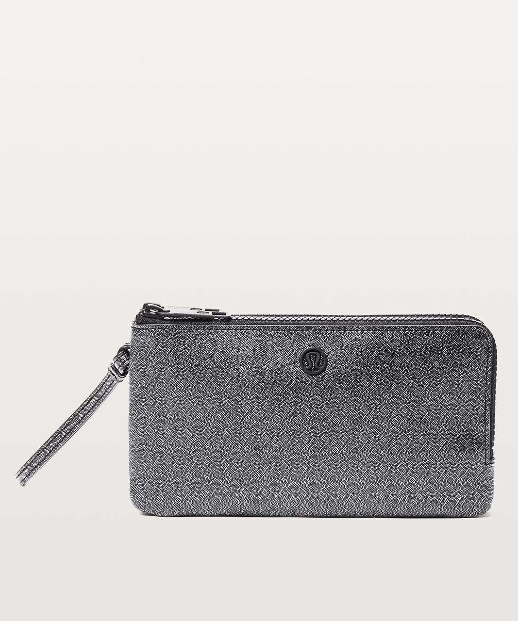 Lululemon Double Up Pouch - Silver