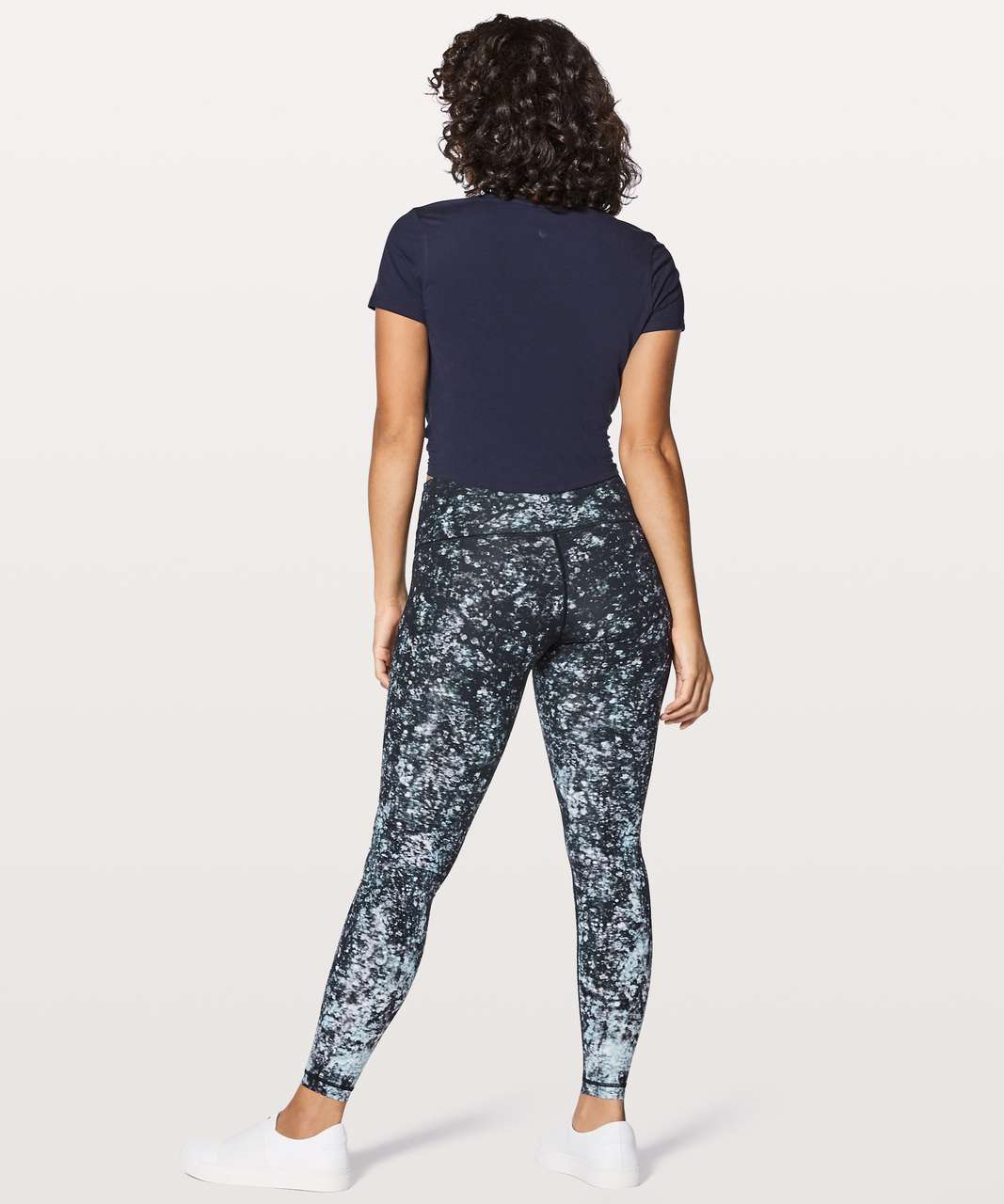 Lululemon Wunder Under Hi-Rise Tight *Nulux - Effervescence Wunder Under Pant Hi-rise 50g Multi Black