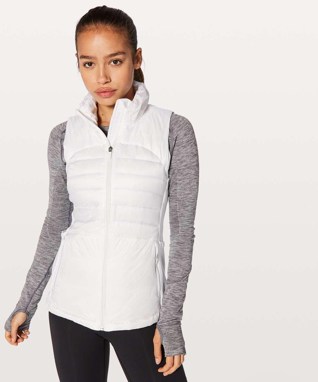 Lululemon Down For A Run Vest II - White