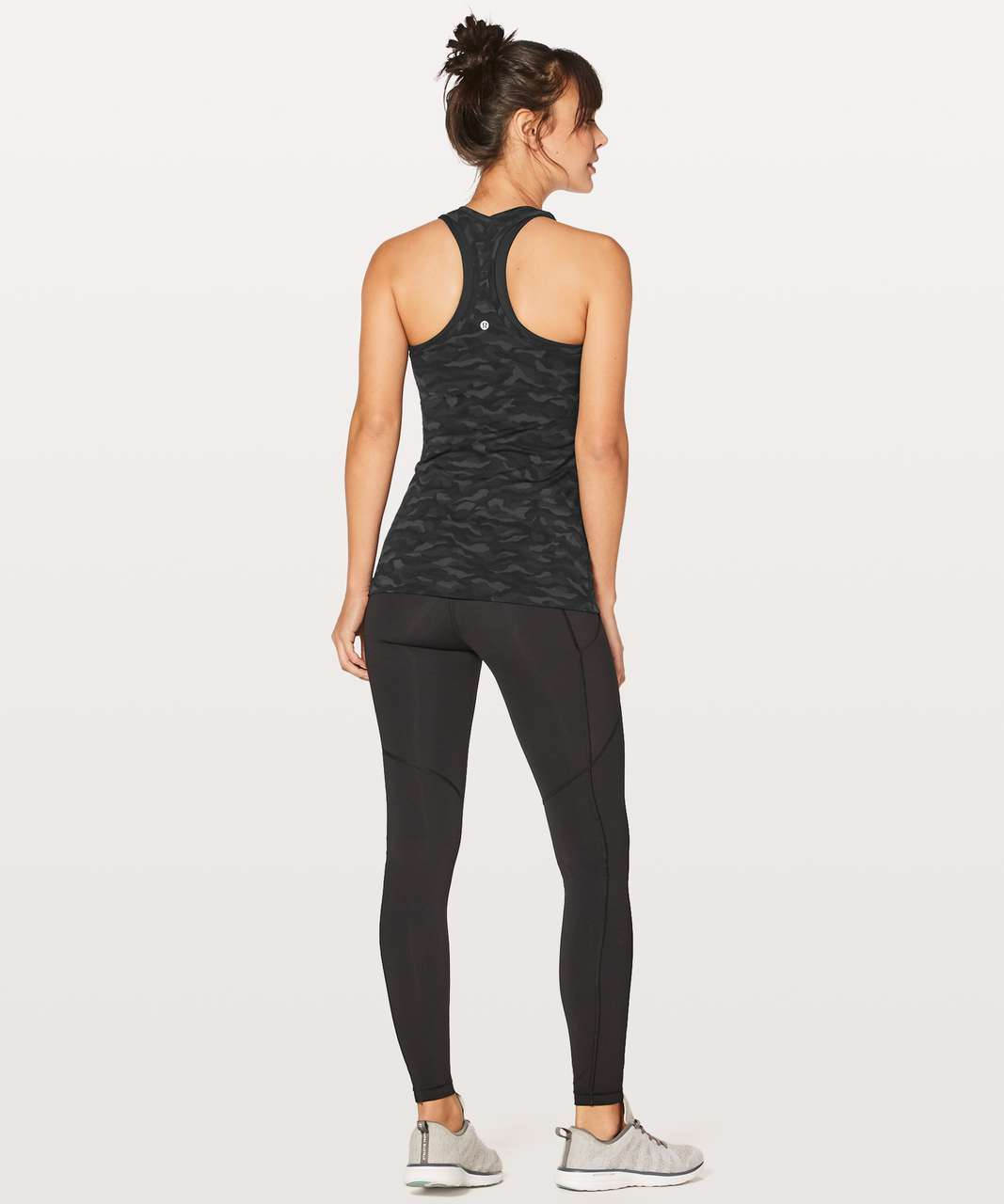 Lululemon Cool Racerback II - Sequoia Camo Print Deep Coal Black (First Release)