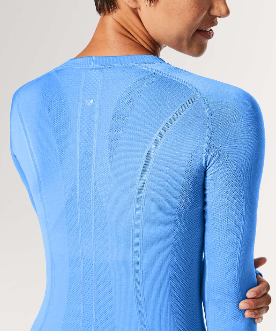 Lululemon Swiftly Tech Long Sleeve Crew - Aero Blue / Aero Blue