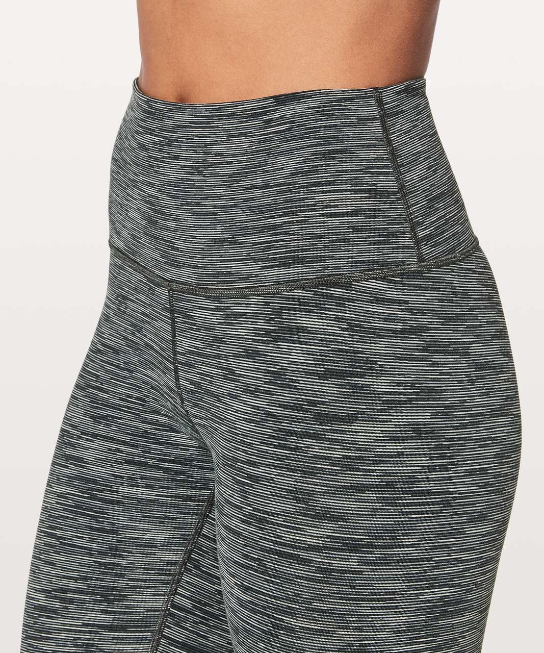 """Lululemon Wunder Under Hi-Rise 7/8 Tight *25"""" - Wee Are From Space Black Slate"""