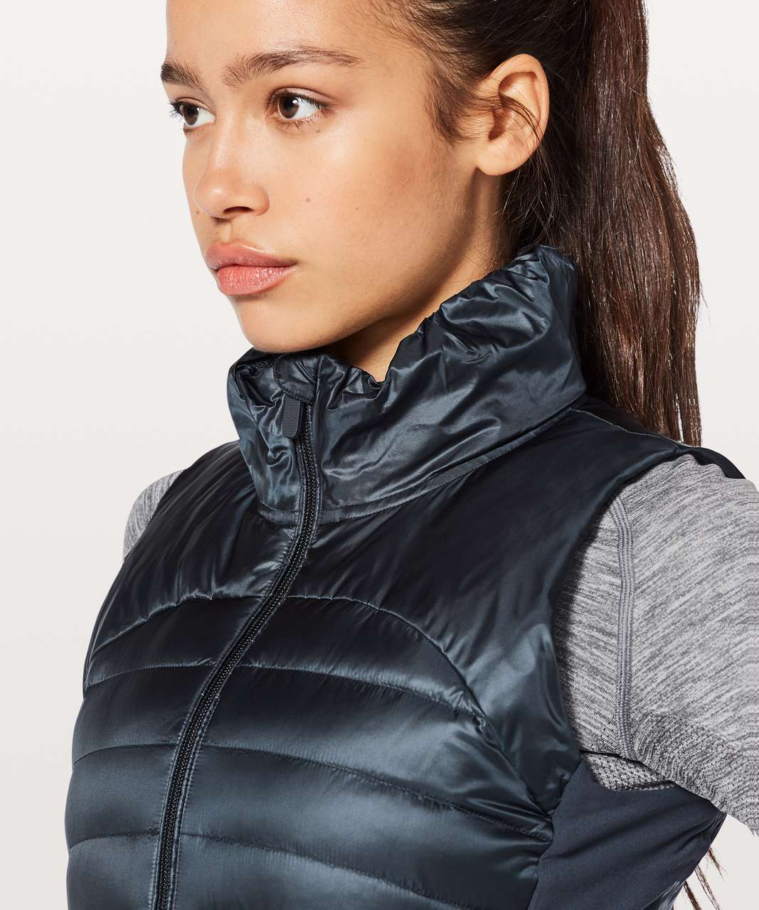 Lululemon Down For A Run Vest II - Inkwell