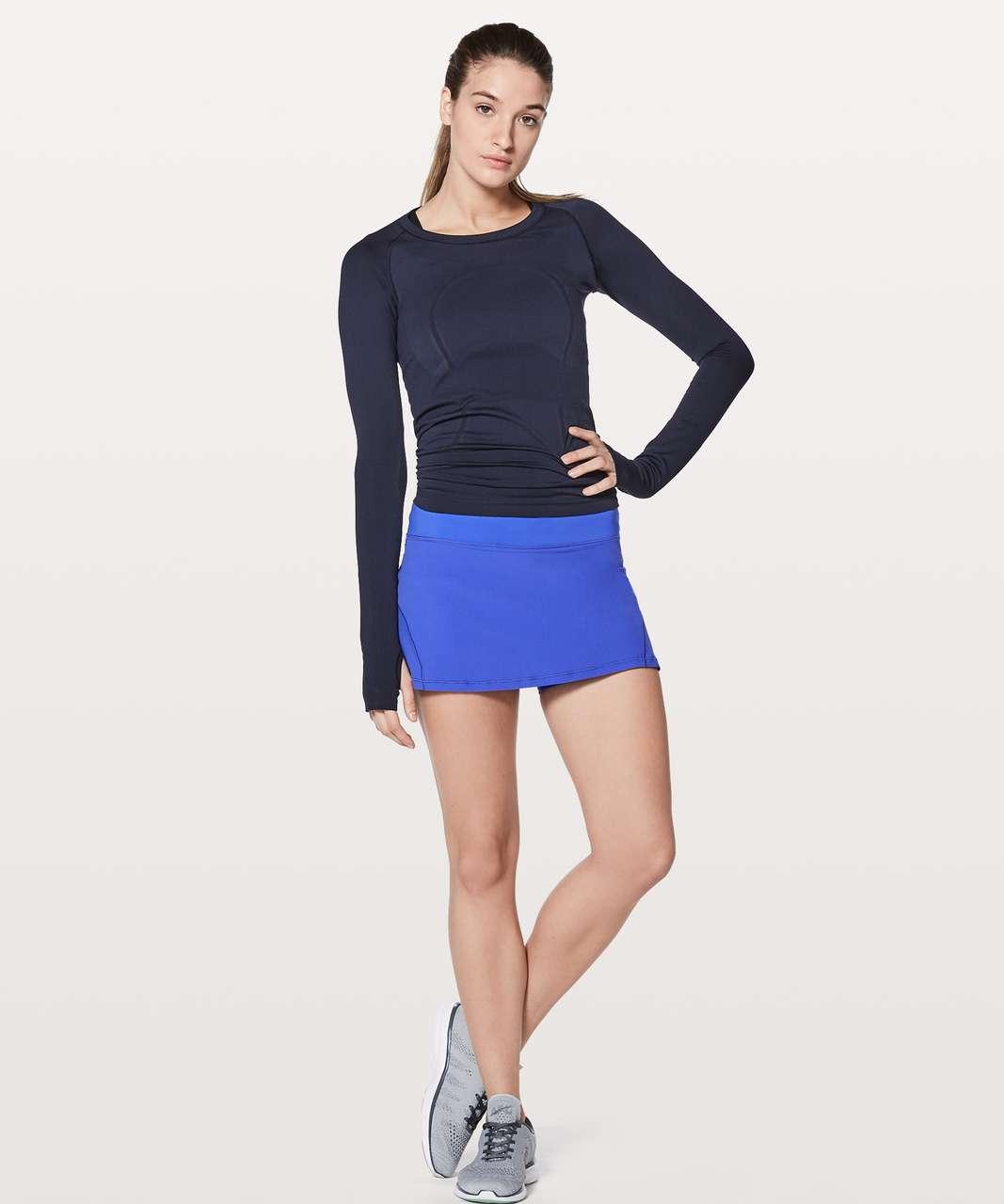 """Lululemon Circuit Breaker Skirt II (Regular) 13"""" - Blazer Blue"""