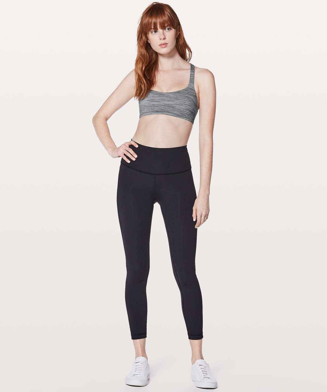 Lululemon Free To Be Bra (Wild) - Space Dye Camo Seal Grey Deep Coal / Flash Light Tone