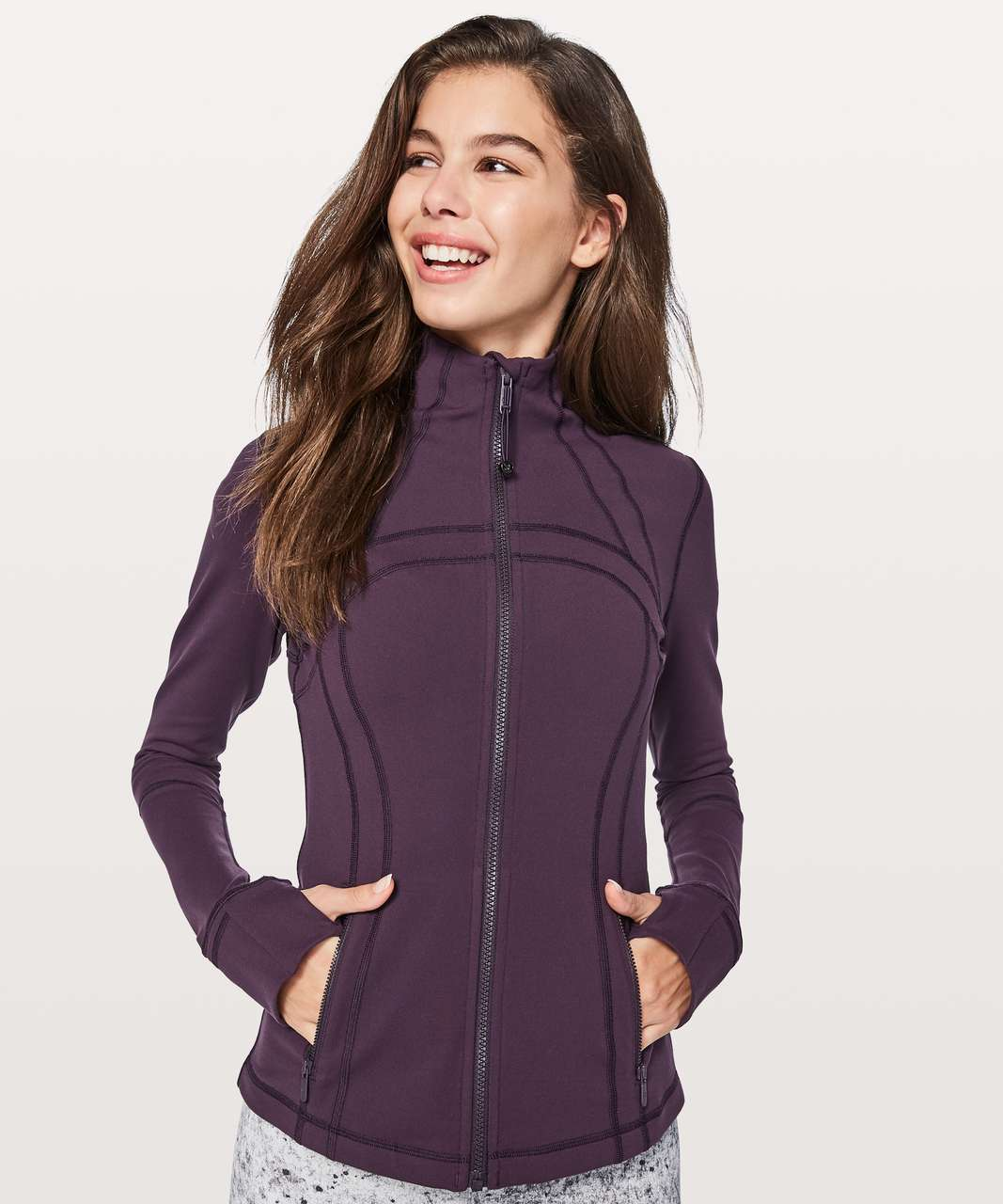 Lululemon Define Jacket *Brushed - Deep Zinfandel