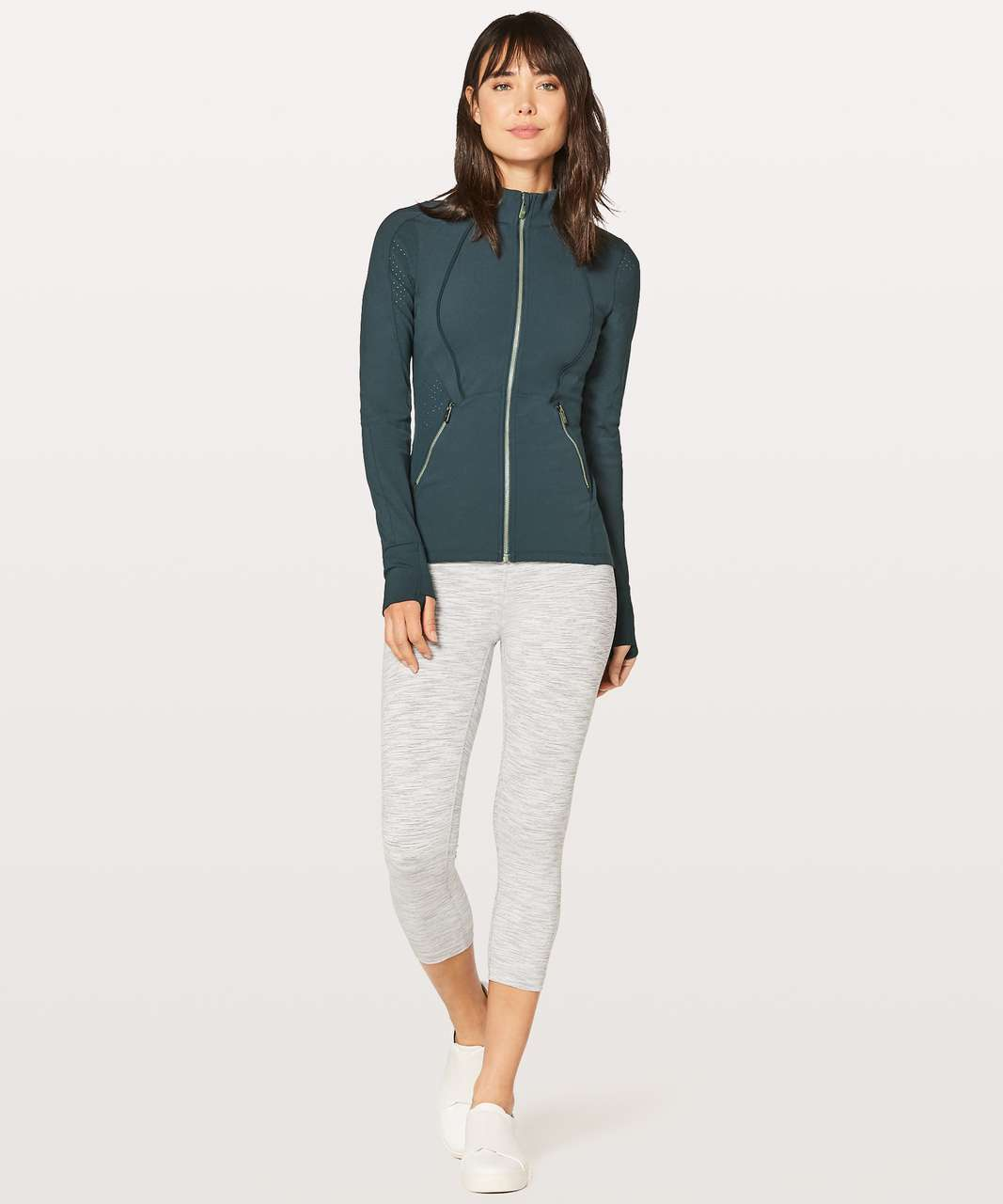 Lululemon Sleek Essentials Jacket - Nocturnal Teal