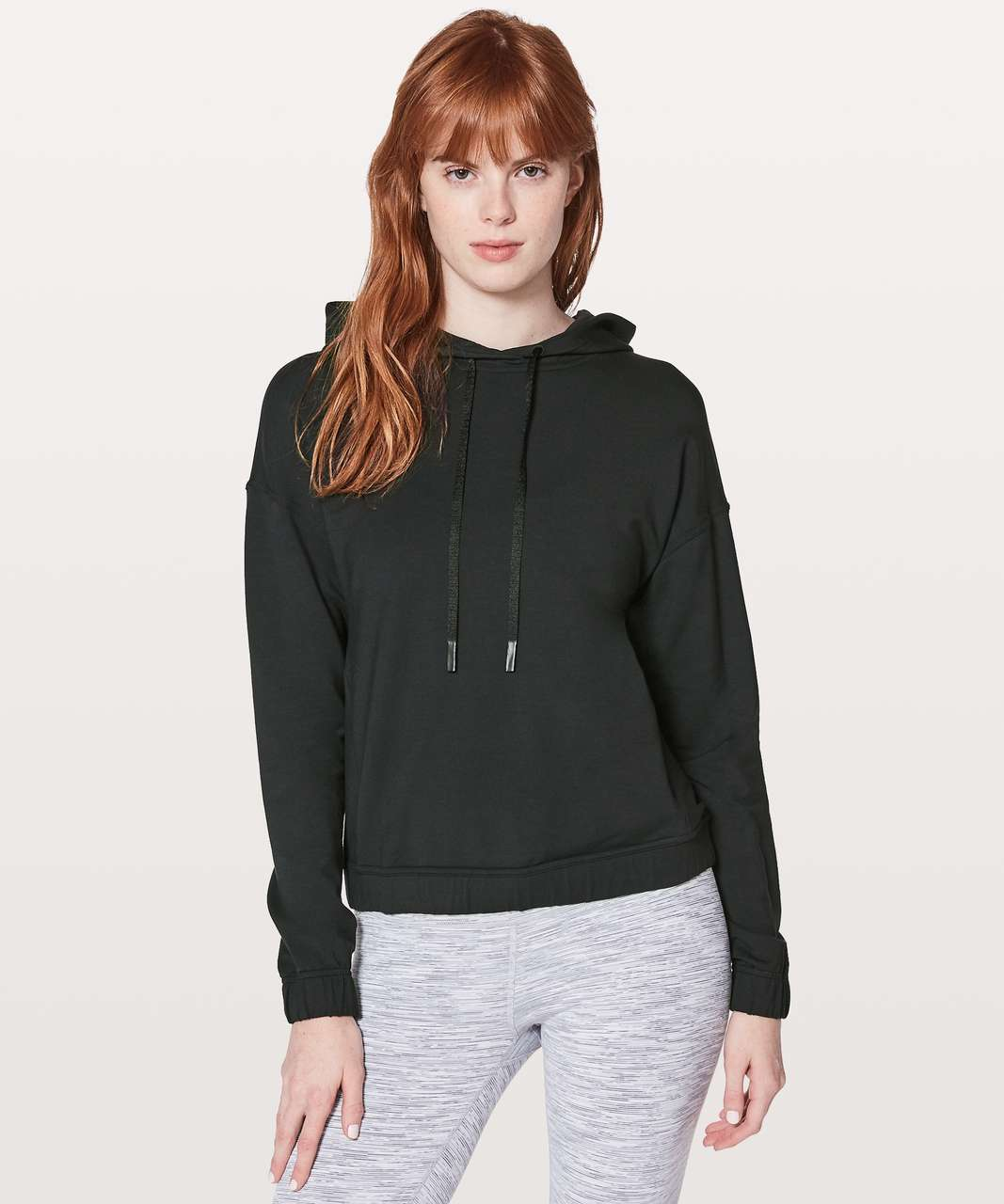 Lululemon Twisted & Tucked Pullover - Black
