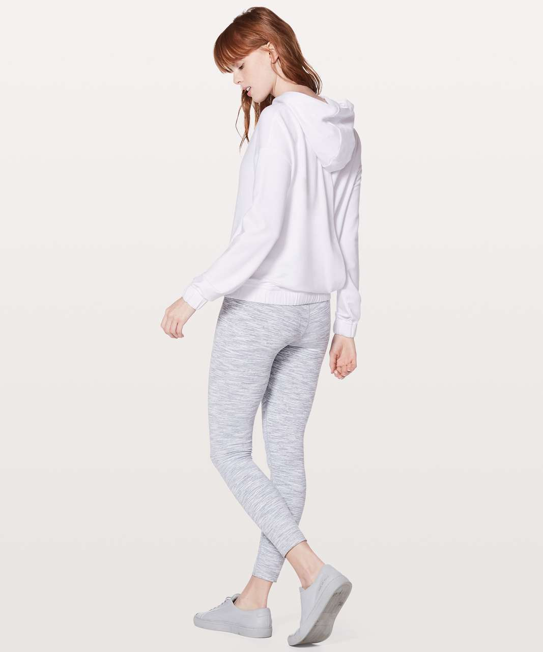 Lululemon Twisted & Tucked Pullover - White