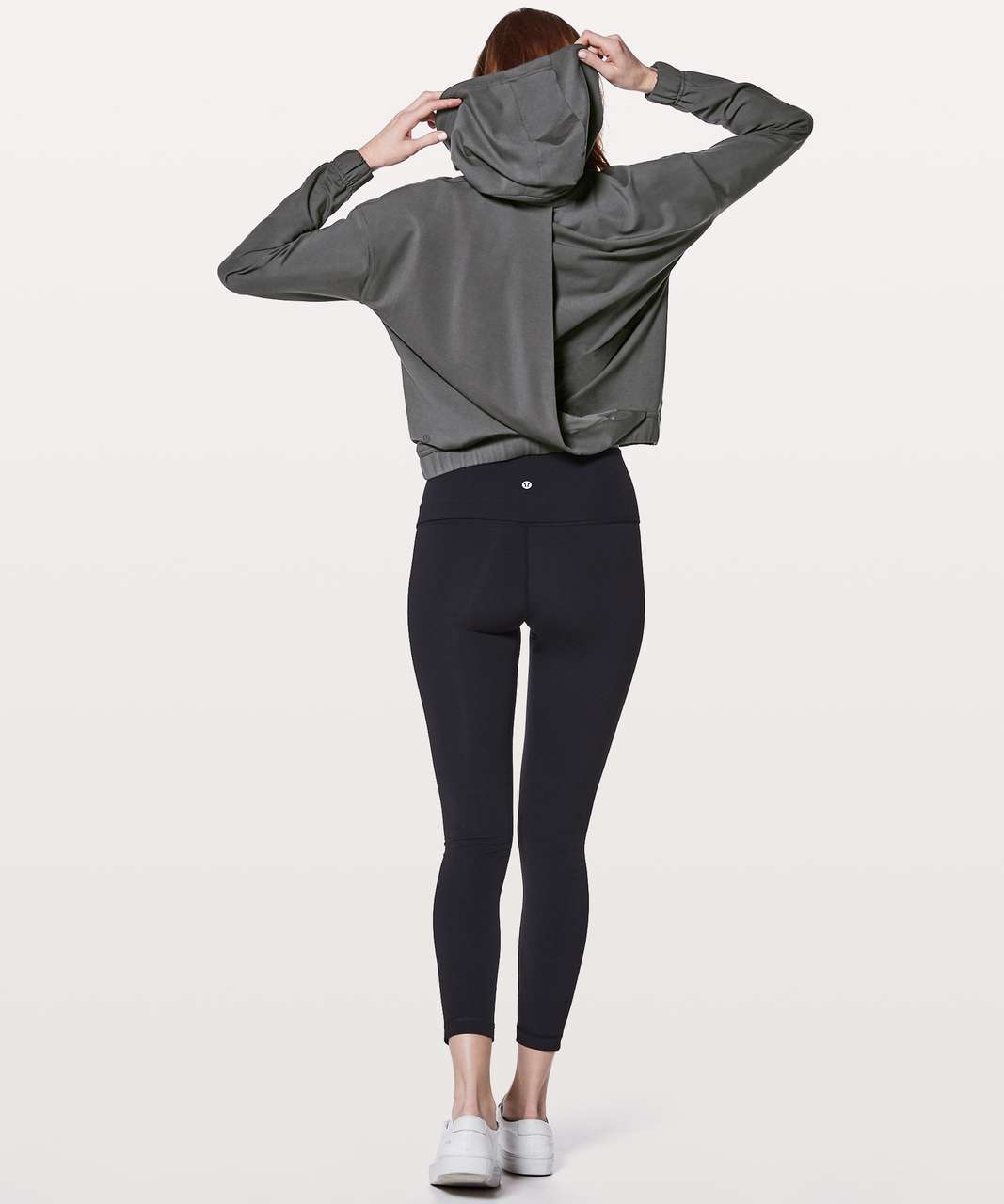 Lululemon Twisted & Tucked Pullover - Dark Shadow