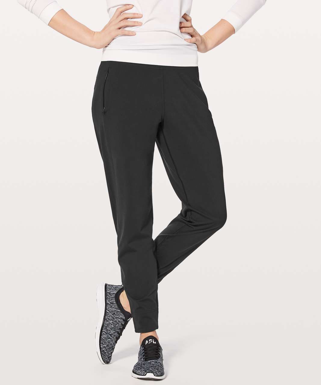 "Lululemon Run Rulu Run Pant 29"" - Black"