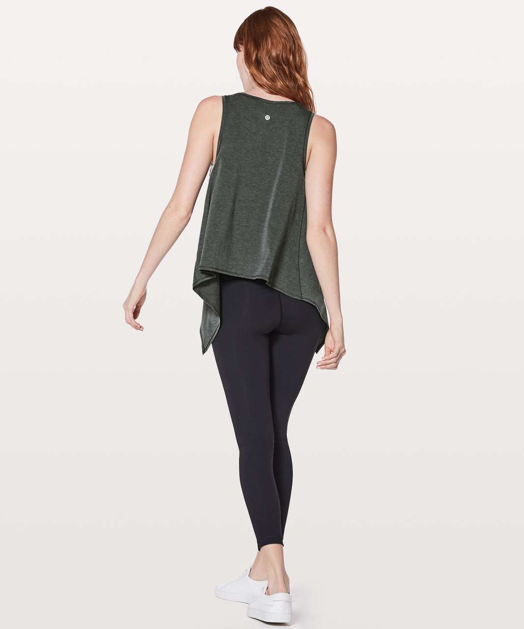 Lululemon Watch Me Flip Tank - Heathered Black