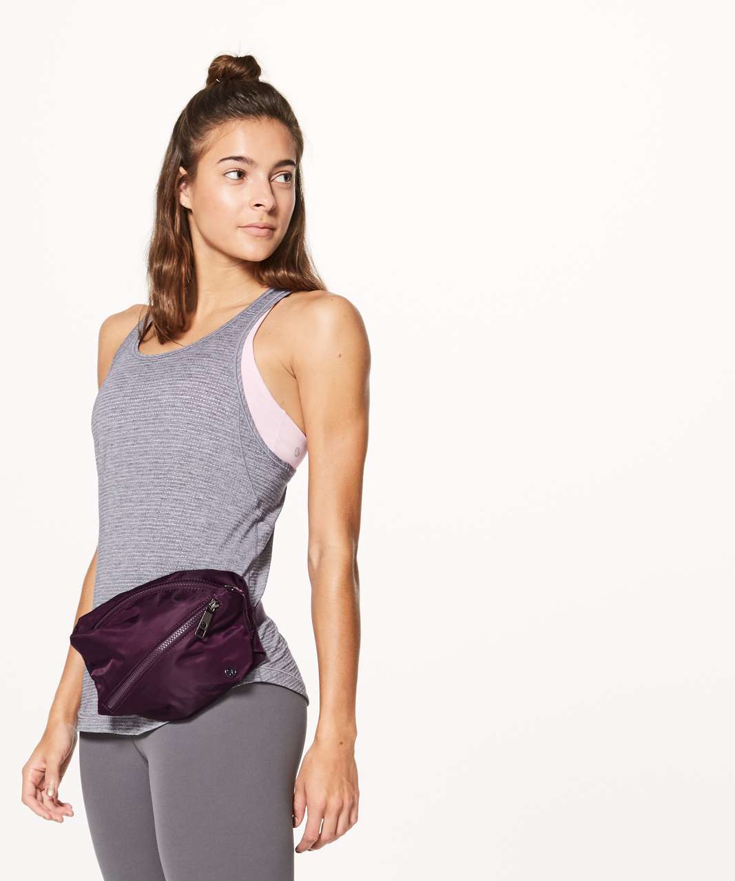 Lululemon Fast Track Belt Bag 3L - Dark Adobe