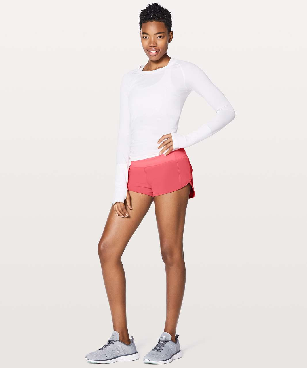 "Lululemon Speed Up Short 2.5"" - Flash Light Tone"