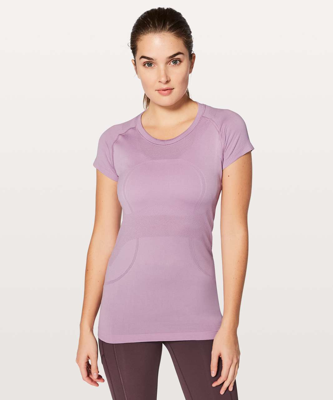 Lululemon Swiftly Tech Short Sleeve Crew - Lilac Quartz / Lilac Quartz