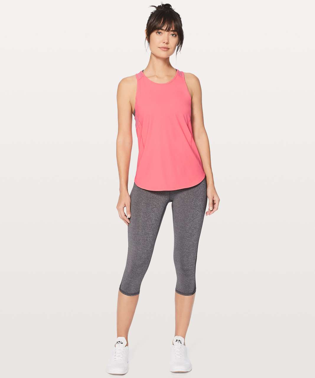 Lululemon Sculpt Tank II - Flash Light Tone