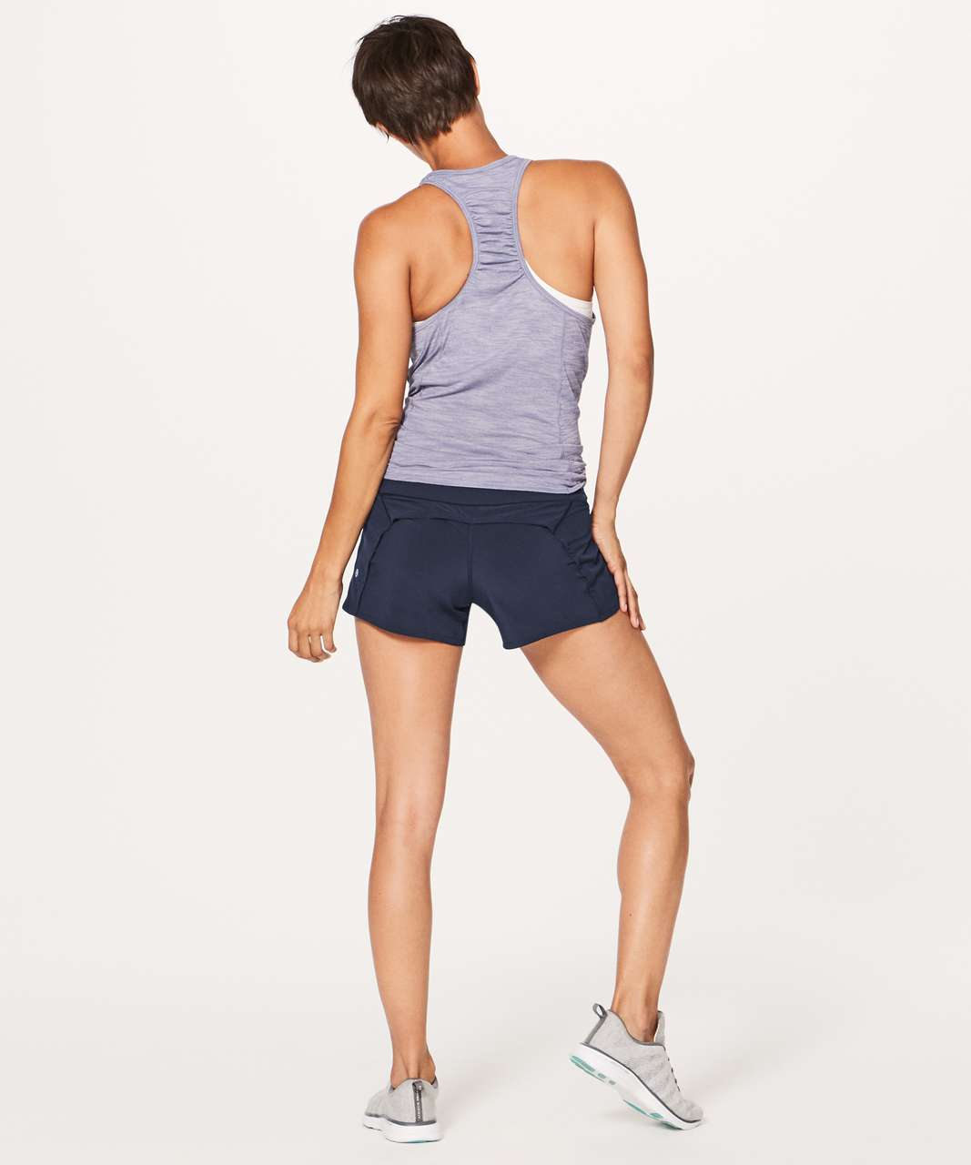 "Lululemon Run Times Short II*4"" - Midnight Navy"