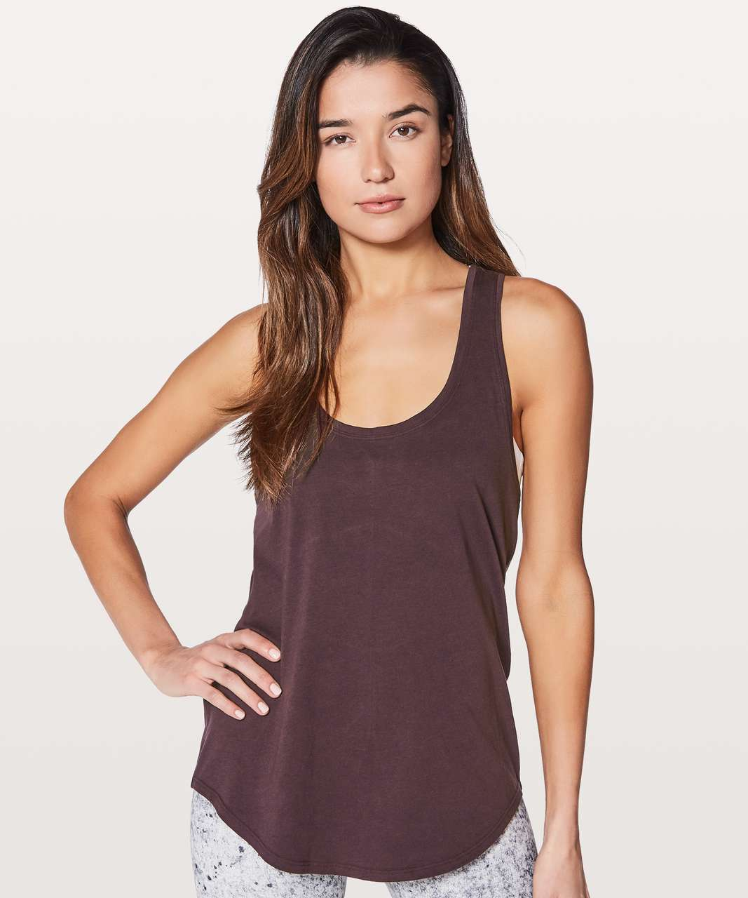 Lululemon Love Tank II - Black Cherry
