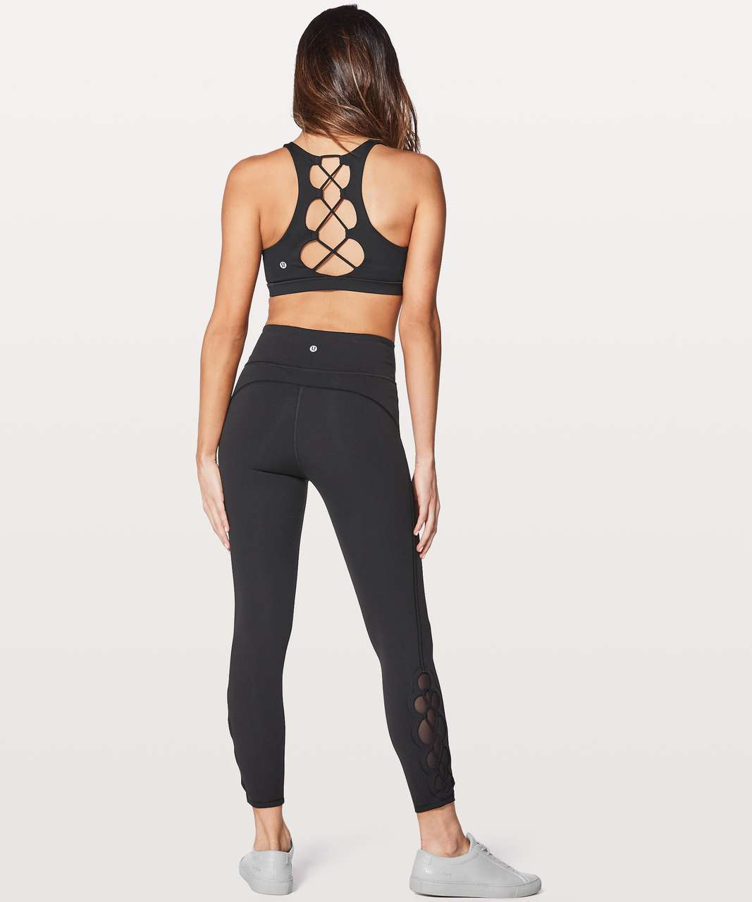 "Lululemon Tied To It 7/8 Tight 25"" - Black"