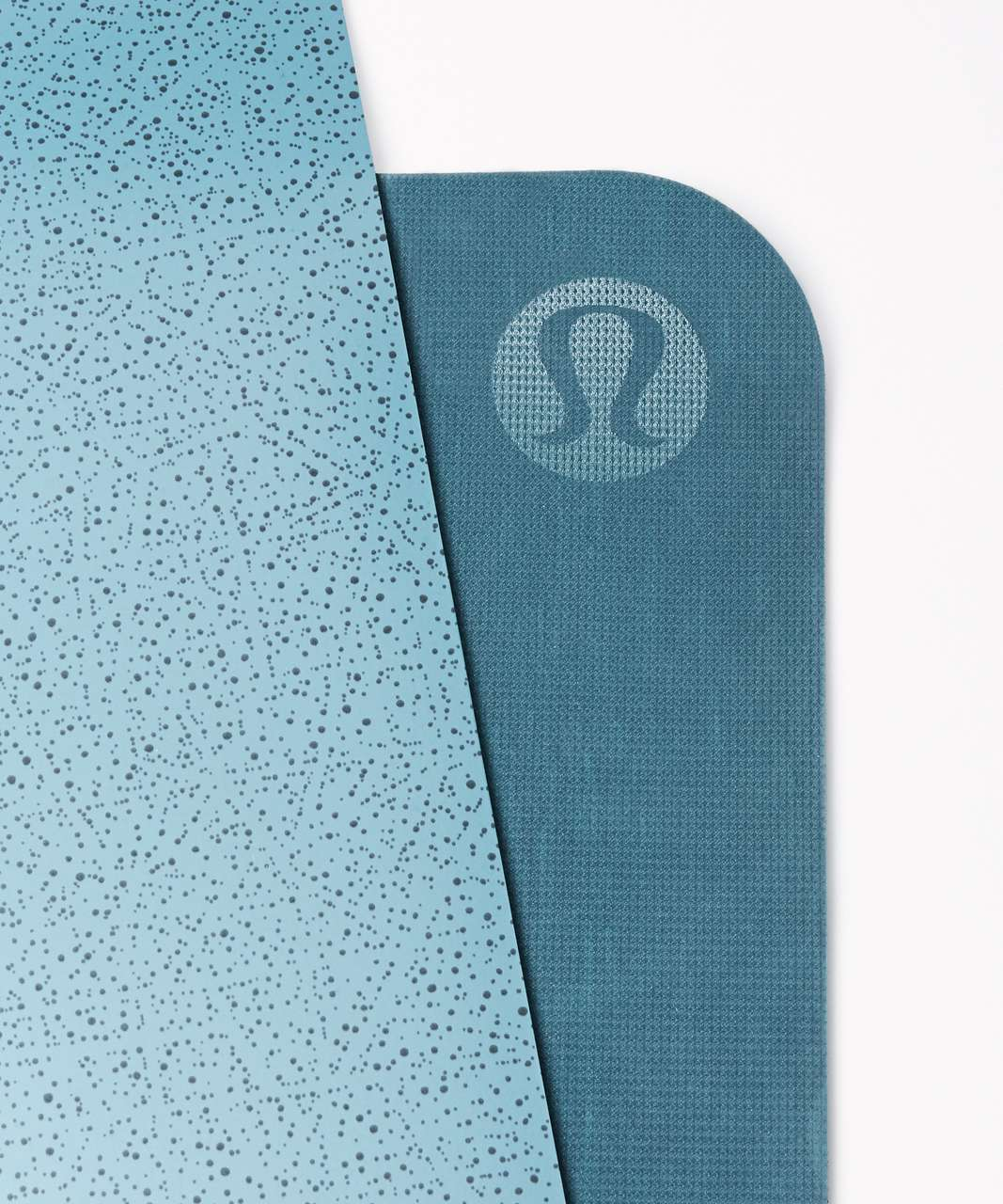 Lululemon The Reversible Mat 5mm - Night View Cyprus Black / Dark Maritime