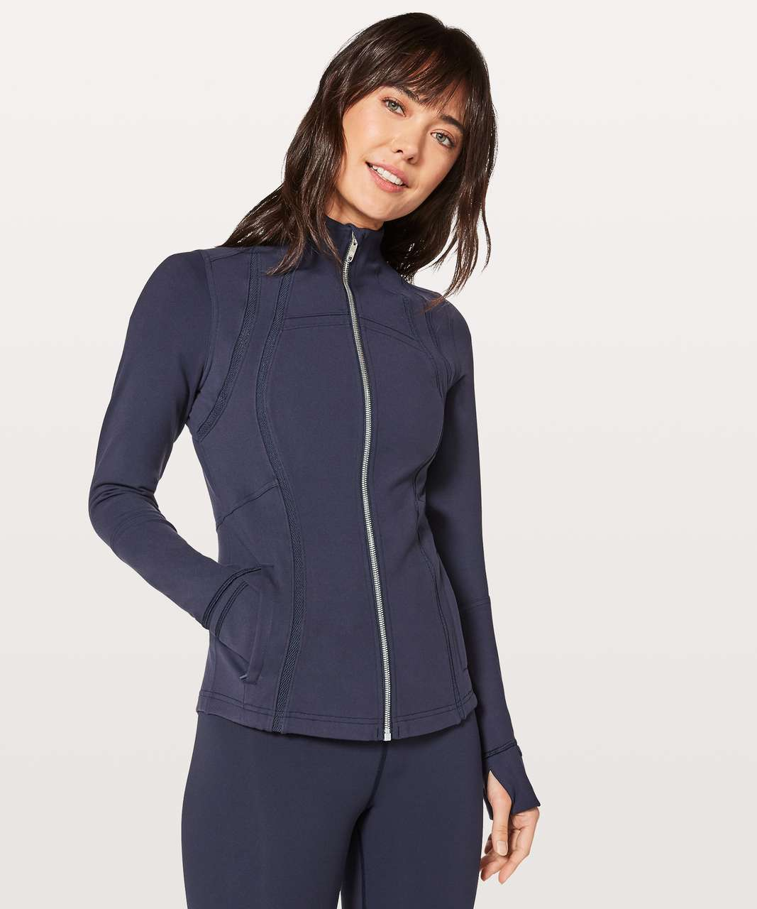 Lululemon Define Jacket Wing Mesh - Midnight Navy