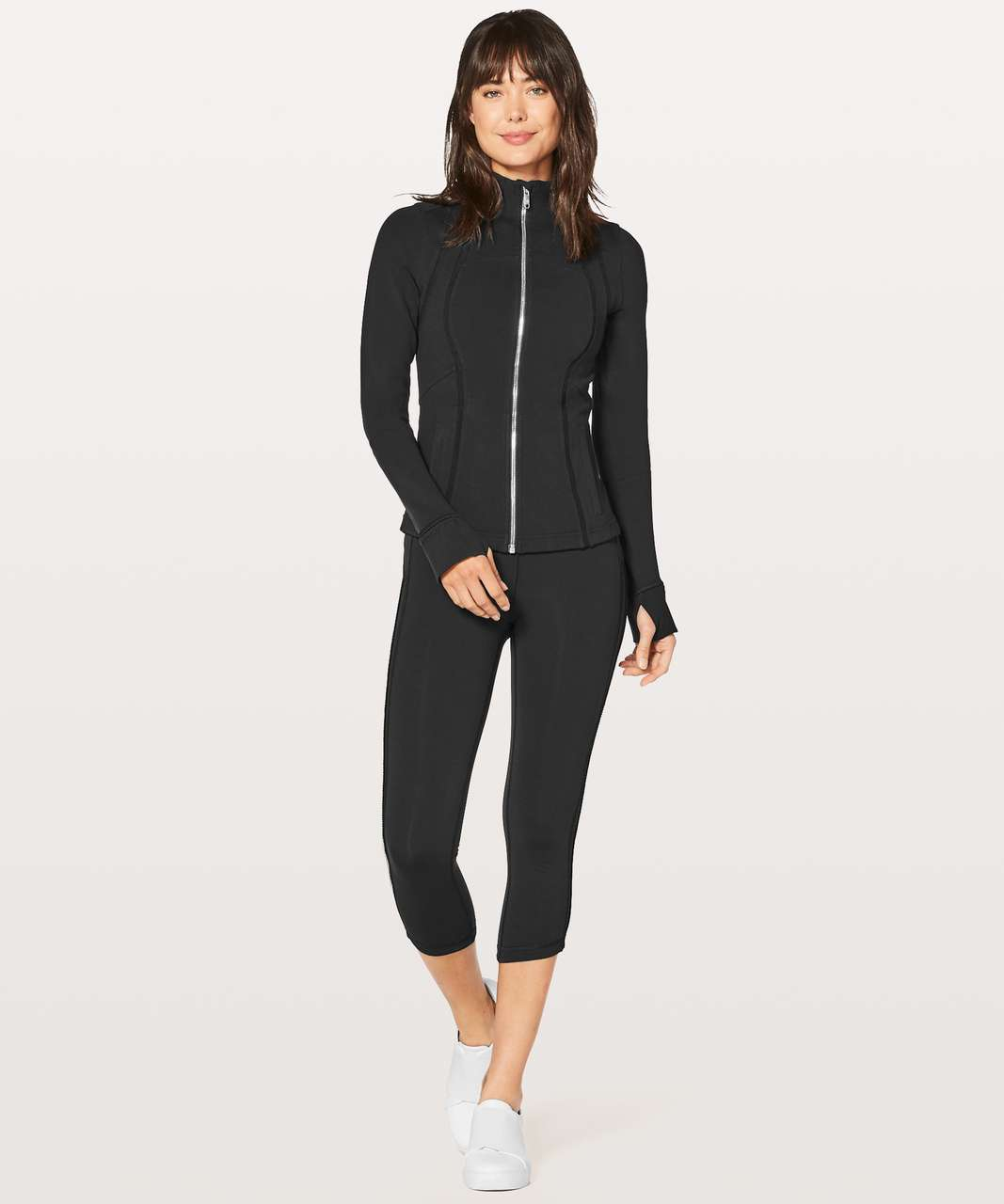 Lululemon Define Jacket Wing Mesh - Black