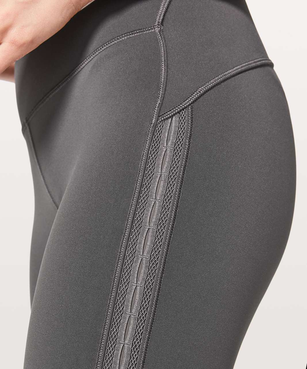 "Lululemon Wunder Under Hi-Rise 7/8 Tight (Awaken) 25"" - Dark Shadow"