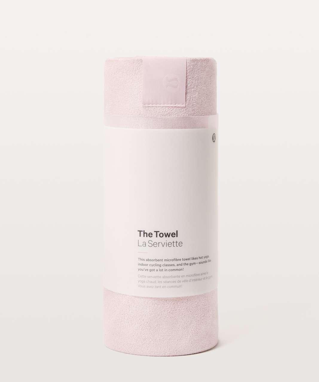 Lululemon The Towel - Misty Pink
