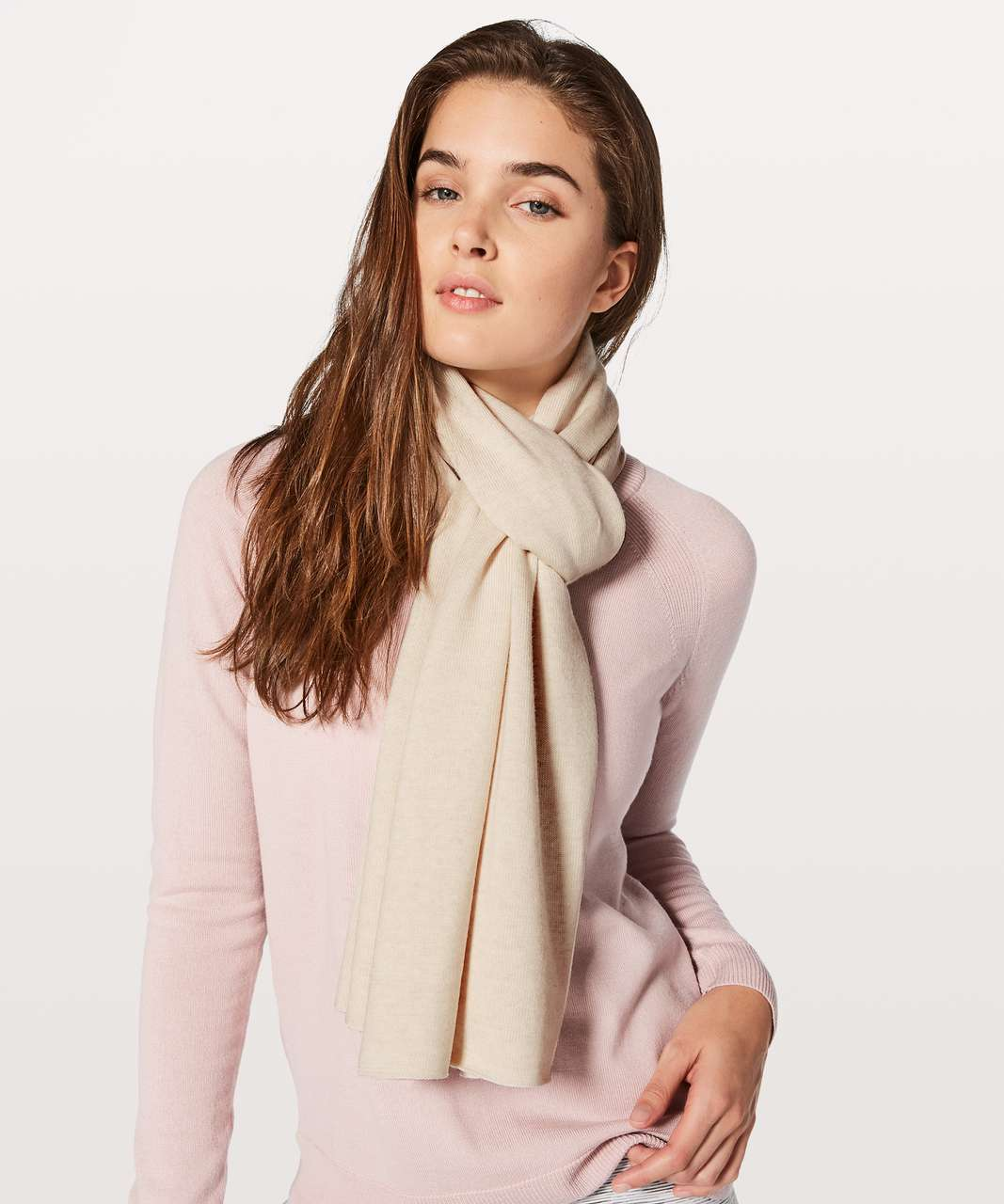 Lululemon Cozy Up Scarf - Heathered Angel Wing