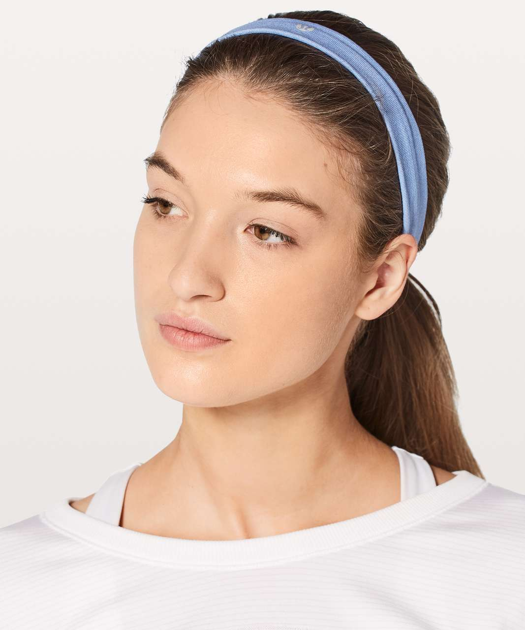 Lululemon Cardio Cross Trainer Headband - Lullaby / White