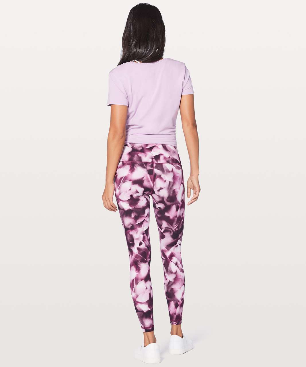"Lululemon Wunder Under Hi-Rise Tight *Full-On Luxtreme 28"" - Blush Blossom Alpine White Candy Pink"