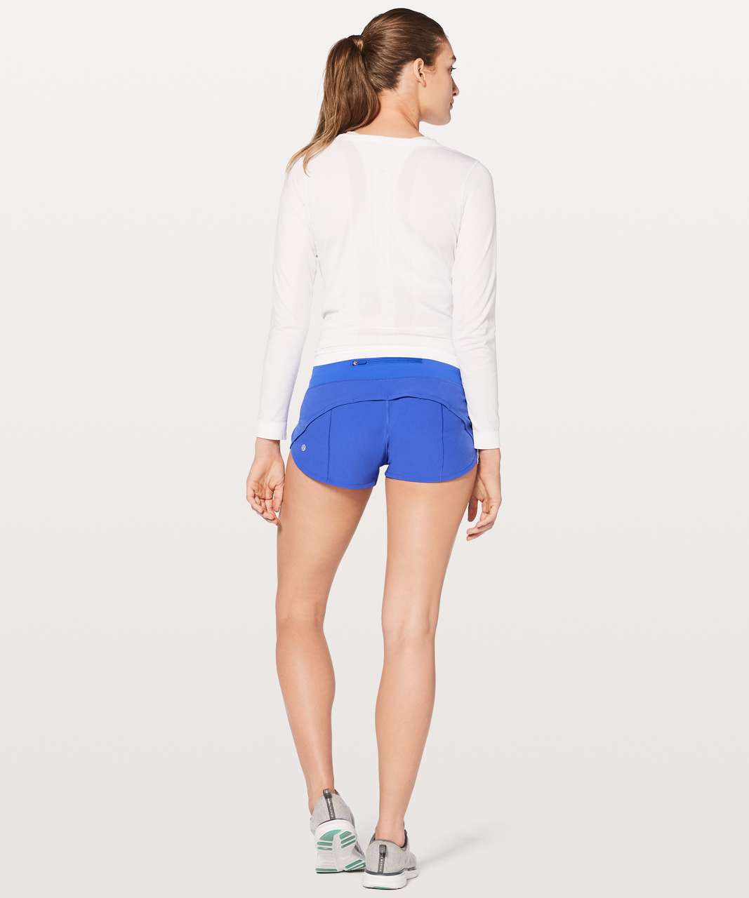 "Lululemon Speed Up Short 2.5"" - Blazer Blue"