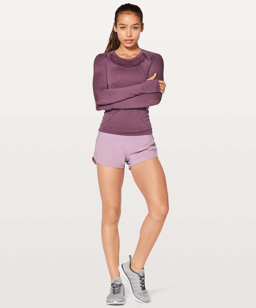 "Lululemon Speed Up Short 2.5"" - Lilac Quartz"