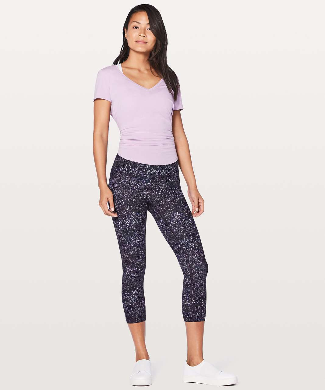 "Lululemon Wunder Under Crop (Hi-Rise) 21"" - Crystalline Multi"