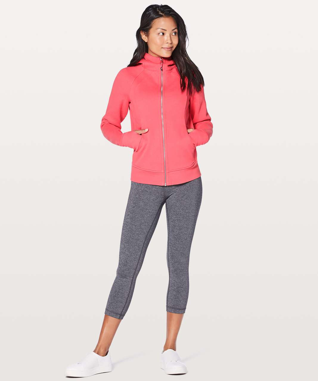 Lululemon Scuba Hoodie *Light Cotton Fleece - Flash Light Tone