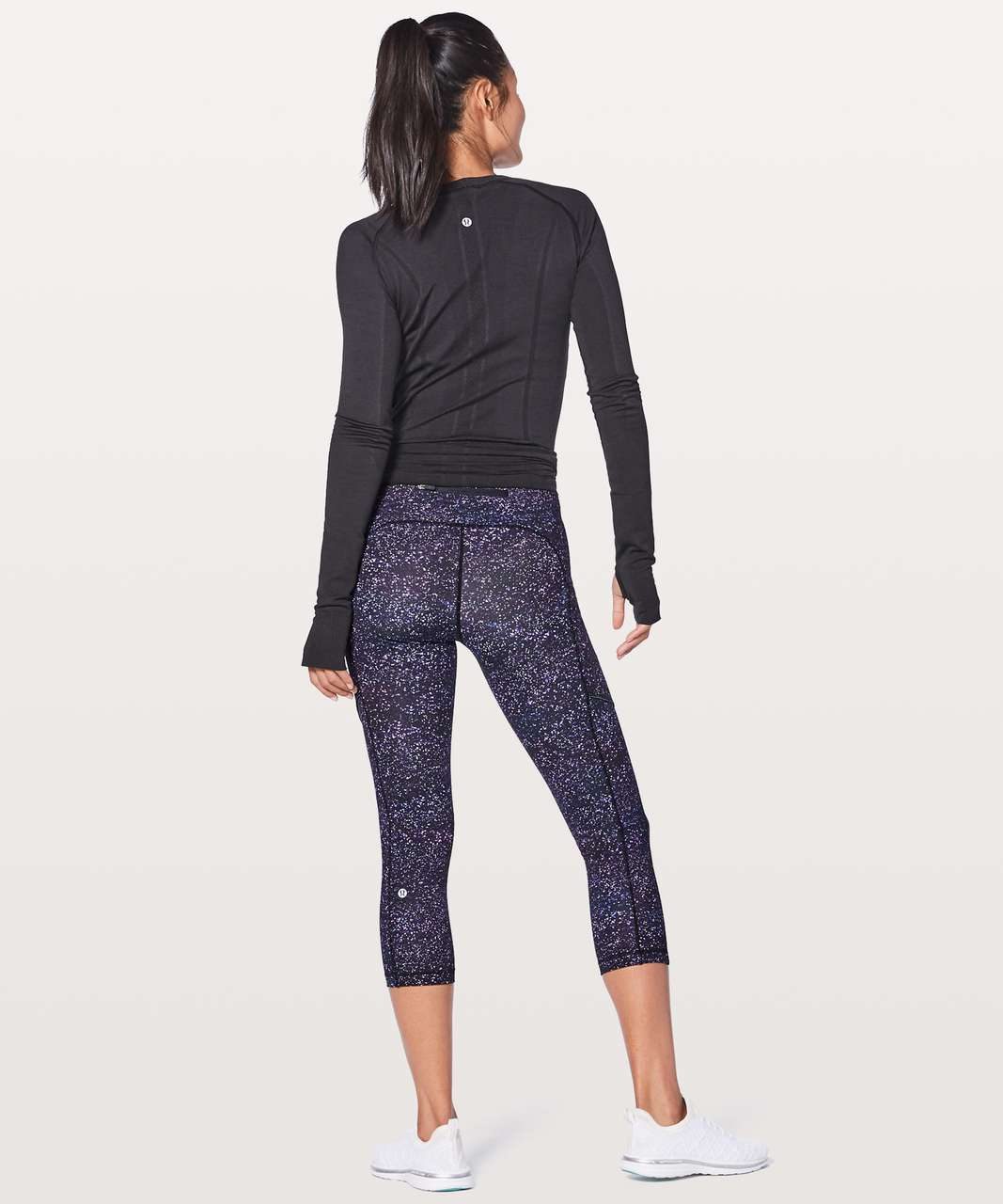 "Lululemon Speed Up Crop 21"" - Crystalline Multi"