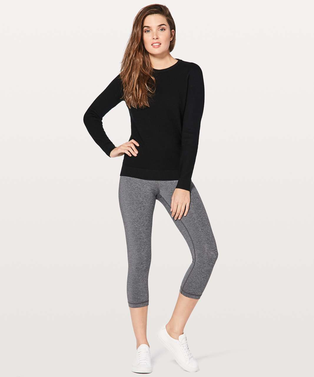 Lululemon Simply Wool Sweater - Black